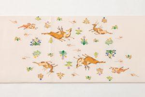 龍村平蔵製 袋帯 「幻彩漆朔瓶」のサブ3画像