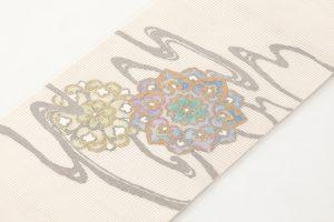 川島織物謹製 本金箔絽綴れ袋帯のサブ1画像