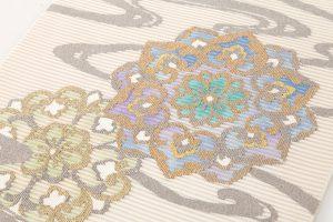 川島織物謹製 本金箔絽綴れ袋帯のサブ2画像