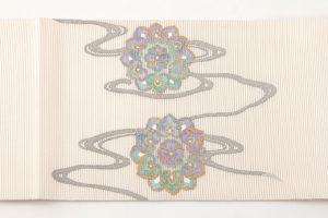 川島織物謹製 本金箔絽綴れ袋帯のサブ3画像