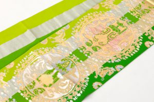 龍村平蔵製 袋帯 「円文百虎錦」のサブ1画像