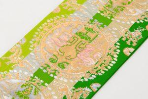龍村平蔵製 袋帯 「円文百虎錦」のサブ2画像