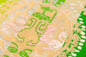 龍村平蔵製 袋帯 「円文百虎錦」のサブ3画像
