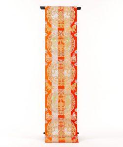 龍村平蔵製 袋帯「円文百虎錦」のメイン画像