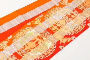 龍村平蔵製 袋帯「円文百虎錦」のサブ1画像