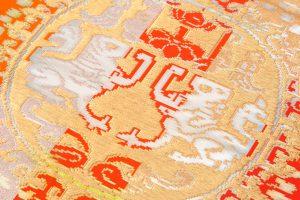 龍村平蔵製 袋帯「円文百虎錦」のサブ2画像