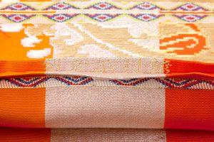 龍村平蔵製 袋帯「円文百虎錦」のサブ3画像