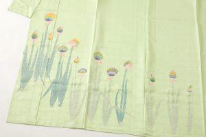 木村雨山作 本加賀友禅訪問着「ねぎ」のサブ5画像