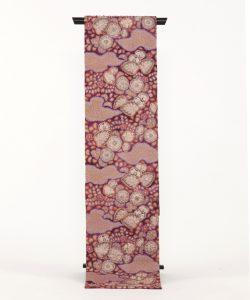 初代久保田一竹作 全通袋帯「香紫」のメイン画像