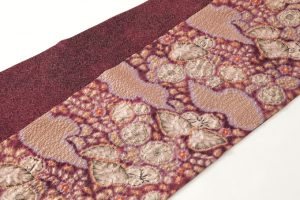 初代久保田一竹作 全通袋帯「香紫」のサブ1画像
