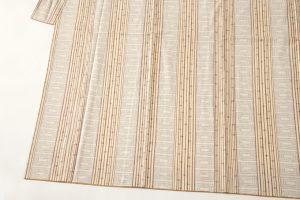 本場結城紬 100亀甲総詰絣のサブ2画像