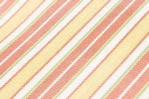 柳 崇作 綾織縞九寸帯 「白地太縞甲比丹裂」のサブ3画像