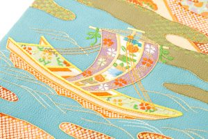 東京染繍大彦謹製 九寸名古屋帯のサブ2画像