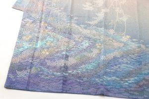 初代久保田一竹作 訪問着「朝光」のサブ6画像