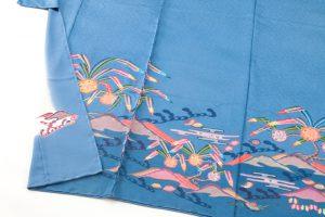 城間栄順作 琉球紅型訪問着のサブ2画像