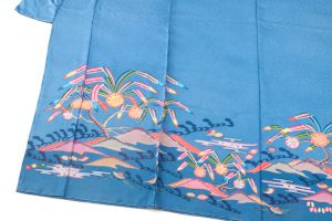 城間栄順作 琉球紅型訪問着のサブ5画像