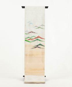 龍村光峯製 袋帯 「金銀彩松」のメイン画像
