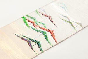 龍村光峯製 袋帯 「金銀彩松」のサブ1画像