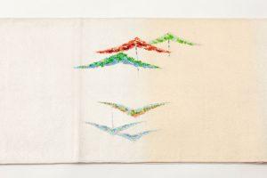 龍村光峯製 袋帯 「金銀彩松」のサブ3画像