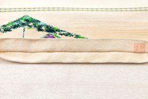 龍村光峯製 袋帯 「金銀彩松」のサブ4画像