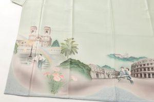 堂端勉作 本加賀色留袖「ローマの休日」のサブ1画像
