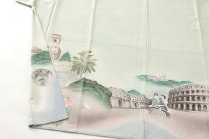 堂端勉作 本加賀色留袖「ローマの休日」のサブ2画像