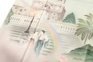 堂端勉作 本加賀色留袖「ローマの休日」のサブ3画像