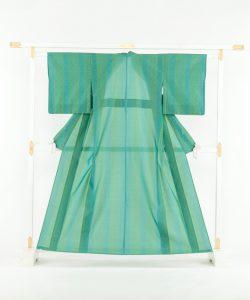 ルバース・ミヤヒラ吟子作 首里花織「翠玉」のメイン画像
