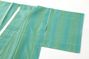 ルバース・ミヤヒラ吟子作 首里花織「翠玉」のサブ1画像
