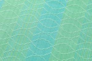 ルバース・ミヤヒラ吟子作 首里花織「翠玉」のサブ3画像