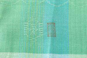 ルバース・ミヤヒラ吟子作 首里花織「翠玉」のサブ4画像