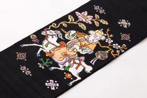 龍村平蔵製 袋帯 「人形手錦」のサブ1画像
