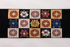 龍村平蔵製 袋帯 「人形手錦」のサブ3画像