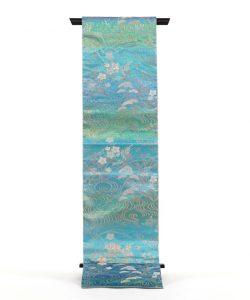 池口謹製 夏佐波理綴袋帯のメイン画像