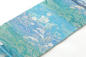 池口謹製 夏佐波理綴袋帯のサブ1画像