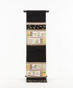 龍村平蔵製 袋帯 「木画インコ」のメイン画像
