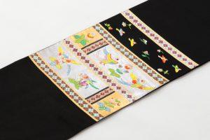 龍村平蔵製 袋帯 「木画インコ」のサブ1画像