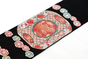 龍村平蔵製 袋帯 「赤絵満玉錦」のサブ1画像