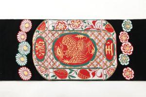 龍村平蔵製 袋帯 「赤絵満玉錦」のサブ3画像