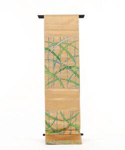 龍村平蔵製 袋帯 「国宝葭之図」のメイン画像