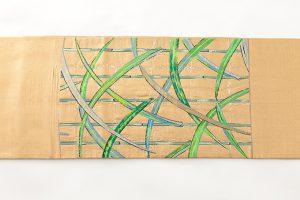 龍村平蔵製 袋帯 「国宝葭之図」のサブ3画像