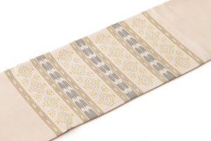 人間国宝 宮平初子作 首里花織名古屋帯のサブ1画像