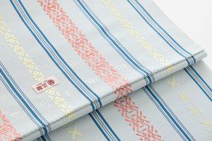 人間国宝 小川規三郎作 献上博多織八寸帯のサブ3画像