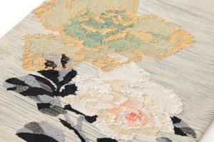 山鹿清華作 綴れ袋帯のサブ2画像