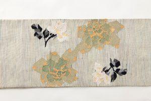 山鹿清華作 綴れ袋帯のサブ3画像
