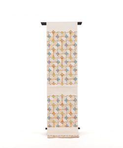 龍村平蔵製 袋帯 「宮嶋格子錦」のメイン画像