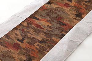 龍村平蔵製 丸帯 「御物樹皮色織緎御袈成裂」のサブ3画像