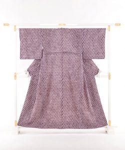 南部紫根染 綿着物のメイン画像