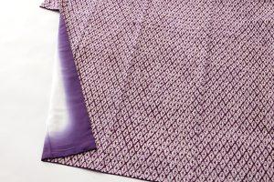 南部紫根染 綿着物のサブ3画像