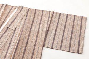 出羽の織座謹製 ぜんまい織着物 のサブ1画像